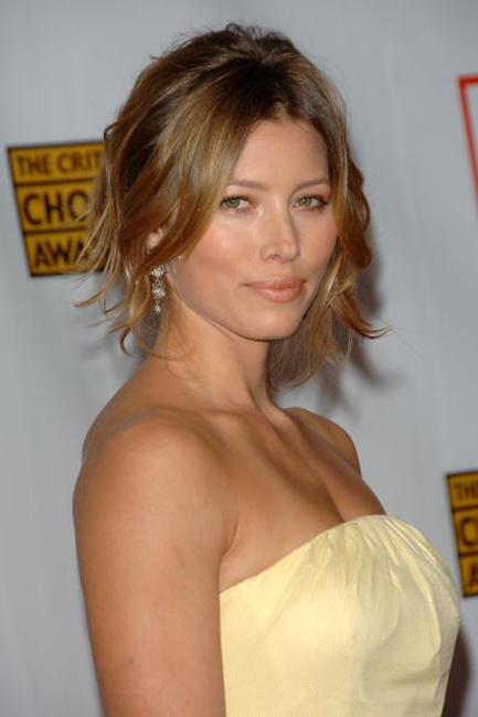 Jessica Biel at the 12th Annual Critics' Choice Awards.